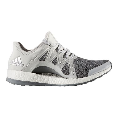 Womens adidas PureBoost Xpose Running Shoe - Grey/Silver 9.5