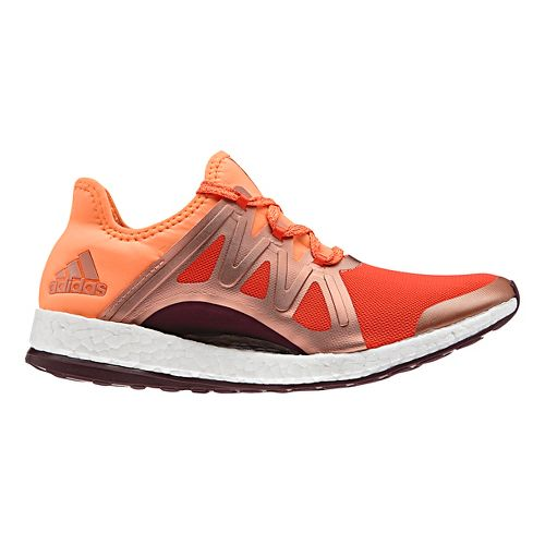 Womens adidas PureBoost Xpose Running Shoe - Glow Orange 11.5