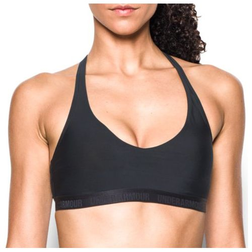 Womens Under Armour Low Strappy Sports Bras - Black L