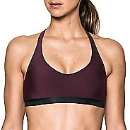 Womens Under Armour Low Strappy Sports Bras - Raisin Red XS