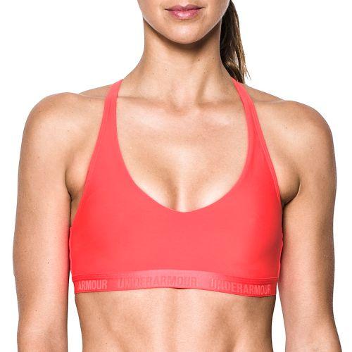 Womens Under Armour Low Strappy Sports Bras - Marathon Red L