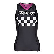 Womens Zoot Tri Cali Racerback Sleeveless & Tank Tops Technical Tops