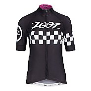 Womens Zoot Cycle Cali Jersey Short Sleeve Technical Tops