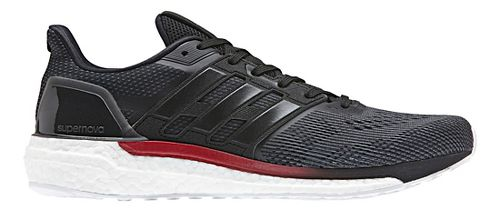 Mens adidas Supernova Running Shoe - Black/White 9.5
