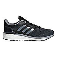 Mens adidas Supernova Running Shoe - Black/Black/Grey 9.5