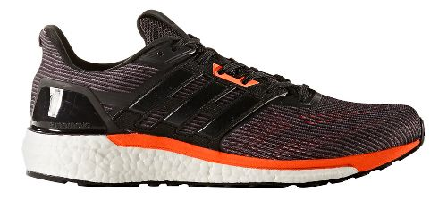 Mens adidas Supernova Running Shoe - Black/Orange 13