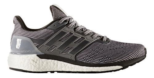 Mens adidas Supernova Running Shoe - Grey/Metallic 12