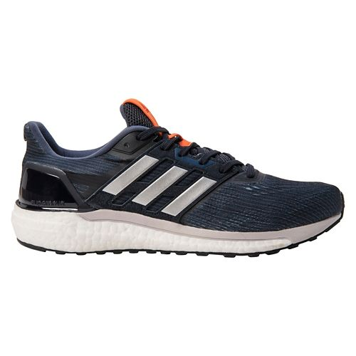 Mens adidas Supernova Running Shoe - Navy/Grey 11.5