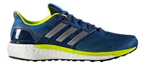 Mens adidas Supernova Running Shoe - Blue/Silver 9
