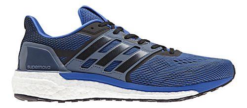 Mens adidas Supernova Running Shoe - Blue/Black 9