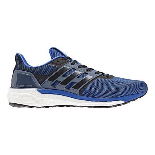 Mens adidas Supernova Running Shoe - Blue/Black 8