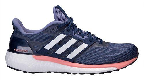 Womens adidas Supernova Running Shoe - Navy/Pink 6.5