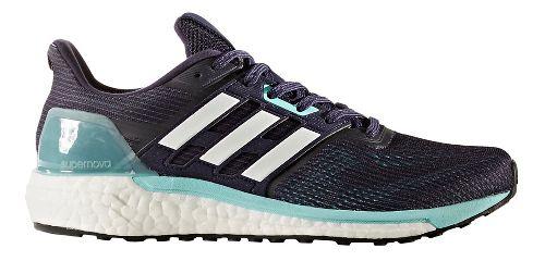 Womens adidas Supernova Running Shoe - Navy/Aqua 7