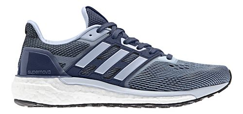 Womens adidas Supernova Running Shoe - Indigo 7
