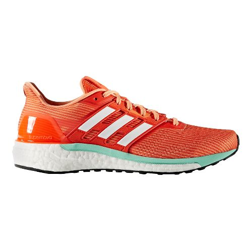Womens adidas Supernova Running Shoe - Orange/Mint 7.5