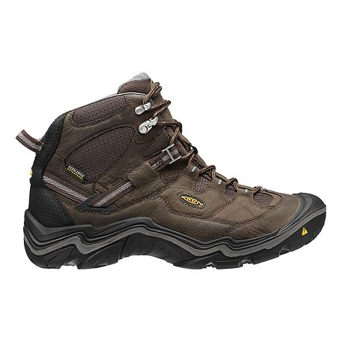 Mens Keen Durand Mid WP Hiking Shoe - Cascade Brown 10