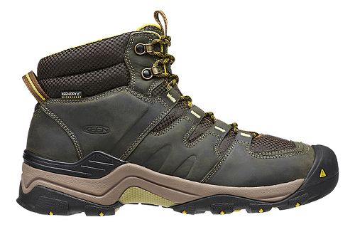 Mens Keen Gypsum II Mid WP Hiking Shoe - Forest Night/Olive 8