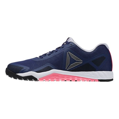 Womens Reebok ROS Workout TR 2.0 Cross Training Shoe - Blue/Pink 7.5