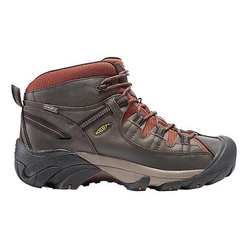 Mens Keen Targhee II Mid WP Hiking Shoe - Raven/Tortoise Shell 15