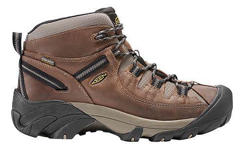 Mens Keen Targhee II Mid WP Hiking Shoe - Shitake/Brindle 9.5