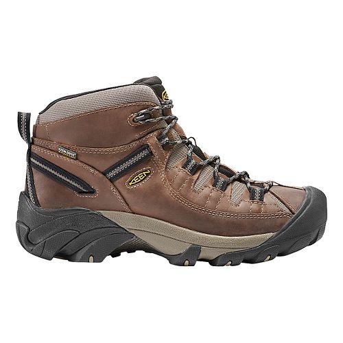 Mens Keen Targhee II Mid WP Hiking Shoe - Shitake/Brindle 7.5