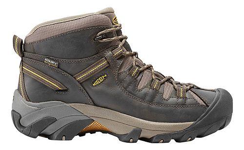 Mens Keen Targhee II Mid WP Hiking Shoe - Olive/Yellow 7