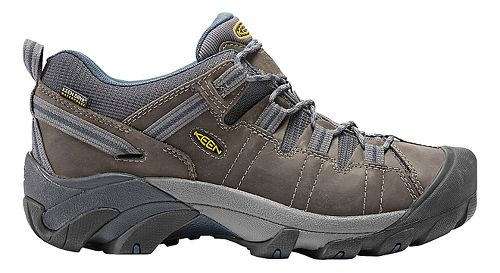 Mens Keen Targhee II WP Hiking Shoe - Gargoyle 7