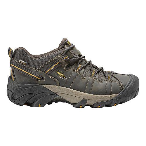 Mens Keen Targhee II WP Hiking Shoe - Raven/Olive 13