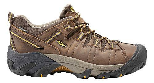 Mens Keen Targhee II WP Hiking Shoe - Cascade Brown 13