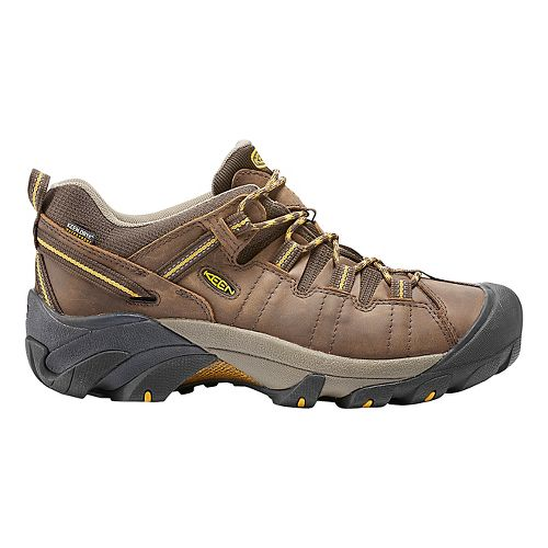 Mens Keen Targhee II WP Hiking Shoe - Cascade Brown 11.5