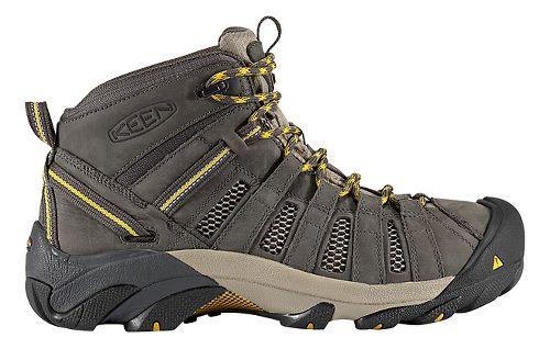 Mens Keen Voyageur Mid Hiking Shoe - Raven/Olive 10.5