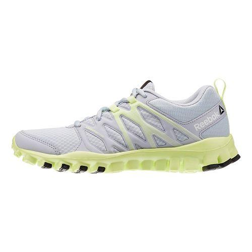 Womens Reebok RealFlex Train 4.0 Cross Training Shoe - Grey/Yellow 5
