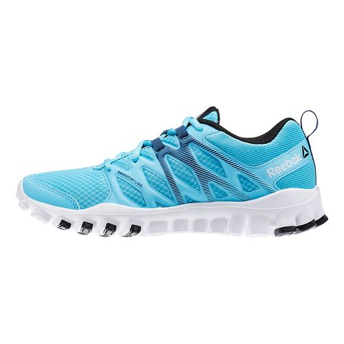 Womens Reebok RealFlex Train 4.0 Cross Training Shoe - Blue/White 6