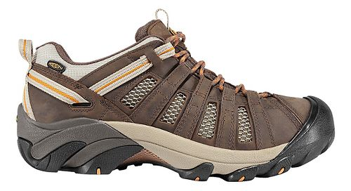 Mens Keen Voyageur Hiking Shoe - Olive/Inca Gold 15