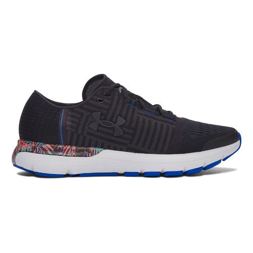 Mens Under Armour Speedform Gemini 3 City RE Running Shoe - Black/Black 9