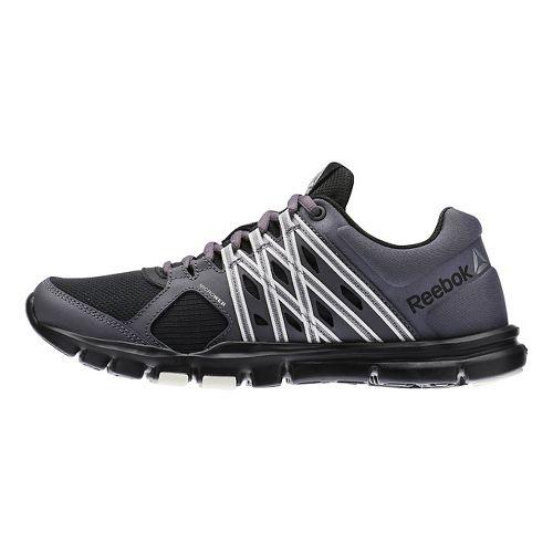 Womens Reebok YourFlex Trainette 8.0 L MT Cross Training Shoe - Black/Grey 11