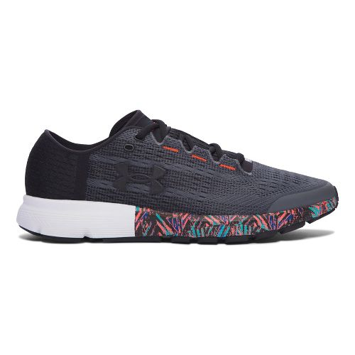Mens Under Armour Speedform Velociti City RE Running Shoe - Black/Black 11.5