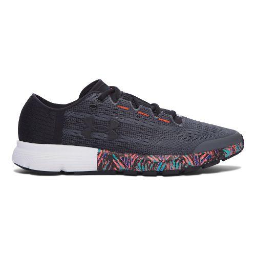 Mens Under Armour Speedform Velociti City RE Running Shoe - Black/Black 8.5