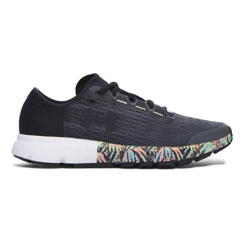 Womens Under Armour Speedform Velociti City RE Running Shoe - Black/Black 10