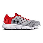 Kids Under Armour Micro G Rave RN Running Shoe - Steel/Red 7Y