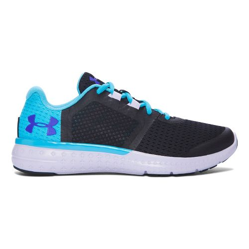 Kids Under Armour Micro G Fuel RN Running Shoe - Black 7Y