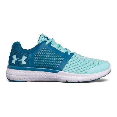Kids Under Armour Micro G Fuel RN Running Shoe - Periwinkle/Silver 7Y