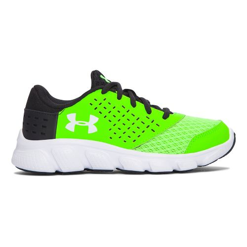Kids Under Armour Rave RN Running Shoe - Hyper Green/Black 12.5C
