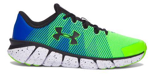 Kids Under Armour X-Level Scramjet Running Shoe - Hyper Green/Blue 6Y