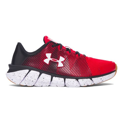 Kids Under Armour X-Level Scramjet Running Shoe - Red/Black 4.5Y