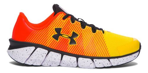 Kids Under Armour X-Level Scramjet Running Shoe - Yellow/Orange 7Y