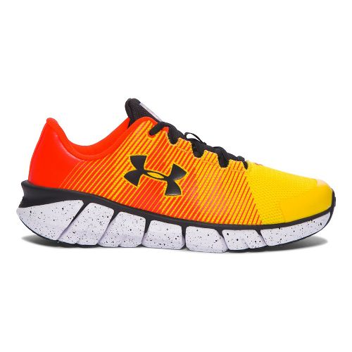 Kids Under Armour X-Level Scramjet Running Shoe - Yellow/Orange 7Y