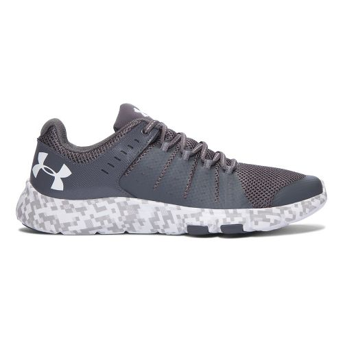 Mens Under Armour Micro G Limitless TR 2 SE Cross Training Shoe - Grey/White 9 ...