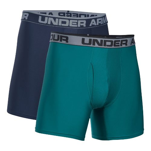 Mens Under Armour Original Series BoxerJock 2 pack Underwear Bottoms - Midnight Navy L