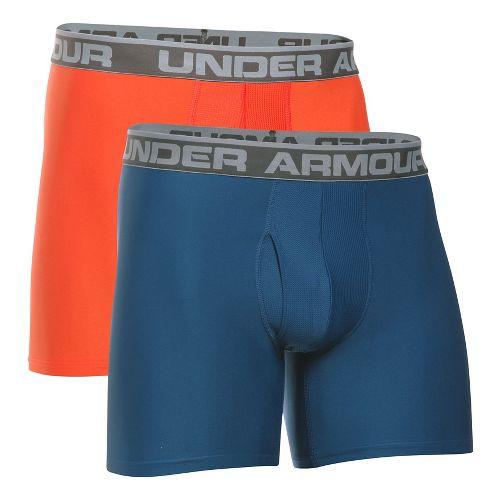 Mens Under Armour Original Series BoxerJock 2 pack Underwear Bottoms - Heron S